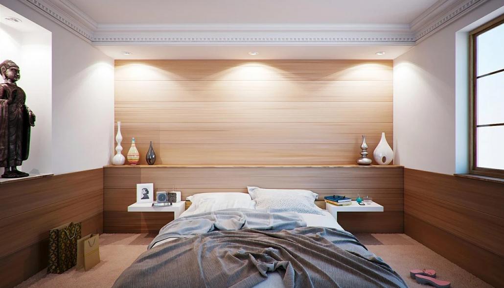 Slaapkamer. Foto: Pixabay